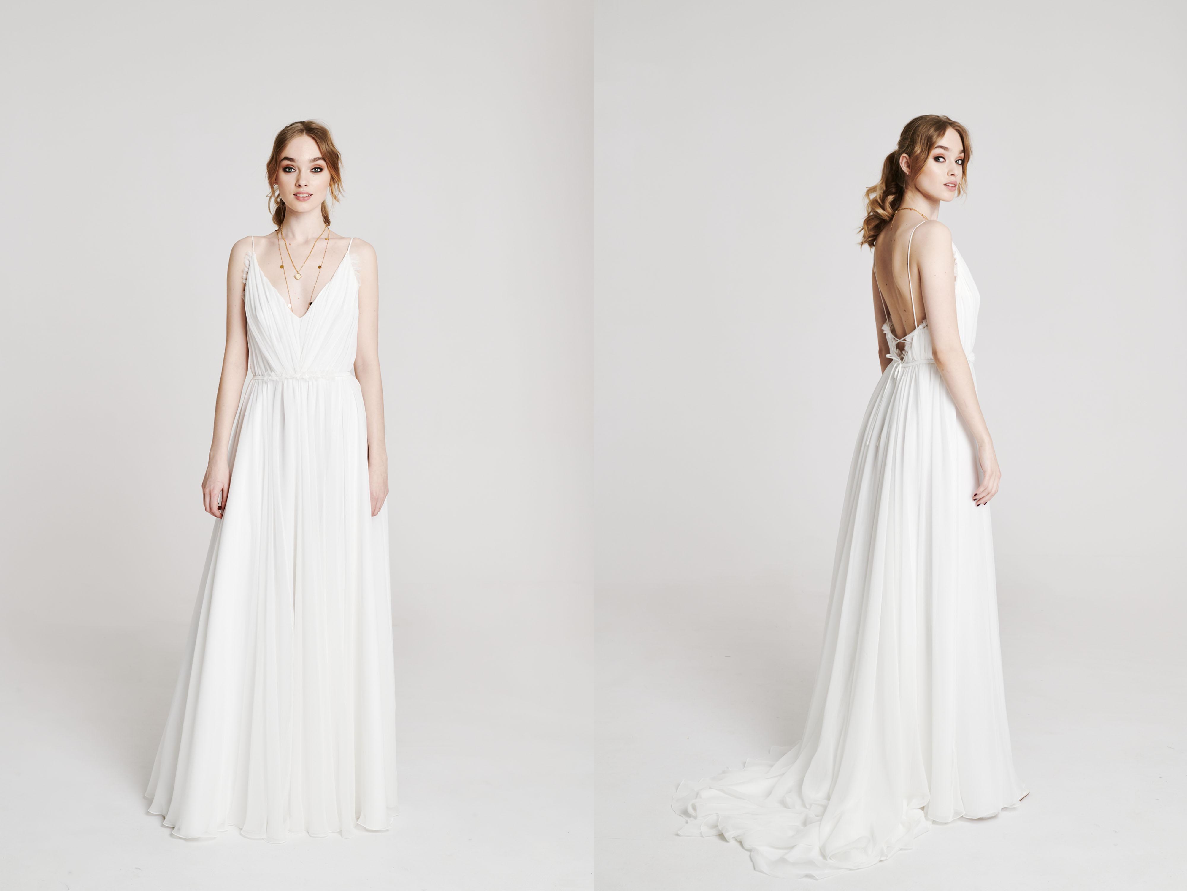 proste suknie ślubna